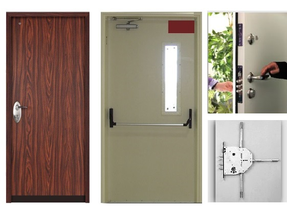 Security & Fire proof doors