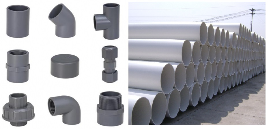 PVC and CPVC Pipe and Fittings